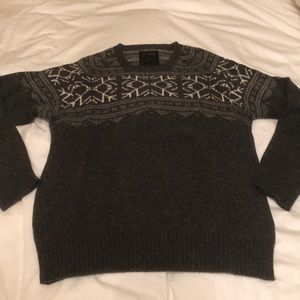 AllSaints grey sweater